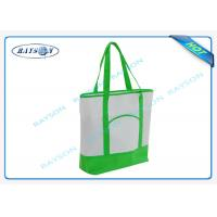 China 100% recycled pp non woven  handle shopper shopping bag for carbage on sale