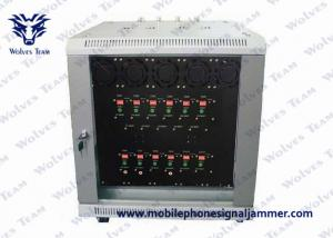 China 500M Range High Power Mobile Jammer Outdoor Waterproof GPS 4G 6 Output Channels on sale