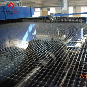 China Lower Elongation PP Extruded Geogrid And Geotextile TGSG 3030 KN 4040 KN on sale