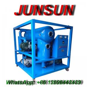China High Vacuum Dielectric Oil Purification Machine | Oil Dehydration and Oil Degassing Plant | Insulation Oil Purifier on sale