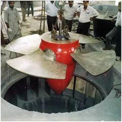 China Kaplan turbine generating/ Vertival shaft hydro power generating on sale