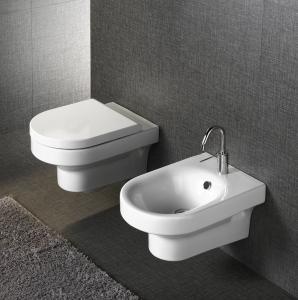 China ceramic round washdown wall hung toilet wc closet bathroom bowls on sale
