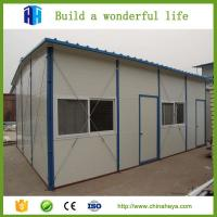 high cost performance steel structure house modular homes design