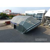 High Quality Permanent Clear Span Tent House / Outdoor Warehouse Tents