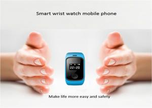 China Orange Wrist Watch GPS Tracker Waterproof IP67 SOS 20 / 50 Channel on sale