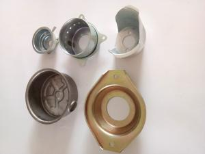 China Deep Drawn Metal Stampings , Sheet Metal Auto Parts ISO2768mm Tolerance on sale