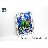 China Pet Material Custom Lenticular Printing , Birds 3D Pictures Of Animals 0.6MM Thickness on sale