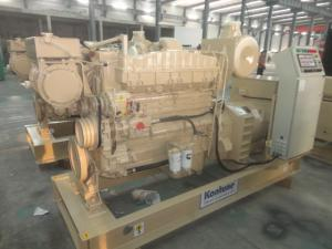 China Compact Unit Marine Diesel Generator Set 200KW / 250KVAMP Low Oil Pressure Shutdown on sale