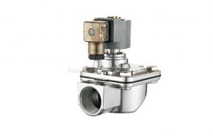 China CA / RCA Right Angle Pulse Jet Valve G1/2 - G3 , Remote Pilot Solenoid / Air Control on sale