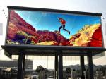 Die Casting Outdoor Advertising LED Display P8 High Brightness 1920Hz Resh Frequency