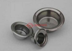 China Bright Grey Niobium Crucible , Niobium Cup For Melting CNC Process Parts on sale