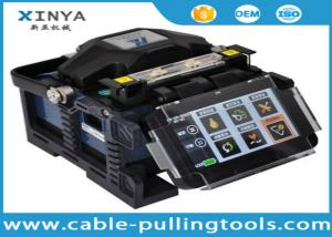 China Digital Fusion Splicer Machine Fiber Optic Cable Tools ALK -88 With Optic Fiber Cleaver on sale