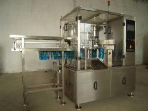 China High Speed Professional Liquid Filling Equipment Doypack Spouted Packing on sale