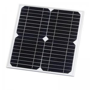 China 15W 18V Monocrystalline Silicon Tempered Glass Laminated Solar Panels on sale