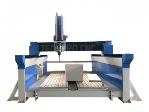 China TechPro CNC router 4 axis 3d cnc machine with 9.0kw HSD spindle for sale on sale