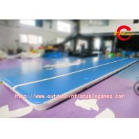 0.55mm PVC Inflatable Air Track Gymnastics , Inflatable Tumble Track