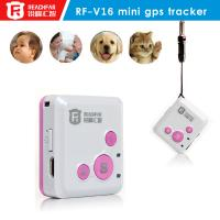 China 2015 Newest ReachFar GPS TRACKER !!! battery operated gps tracking/Mini GPS tracker for cat, kids, elderly, pet, asset on sale