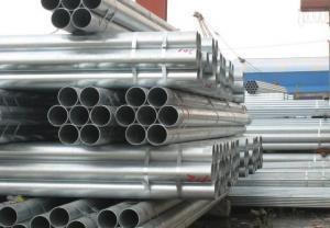 China galvanizado ida / cuadrado / rectángulo / elipse aceite natural gas de tuberías de acero soldadas y Pipe on sale