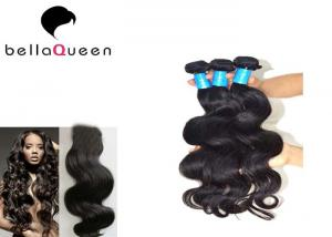 China Salon use Body Wave Fashionable Brazilian Virgin Human Hair Weaving For Women on sale
