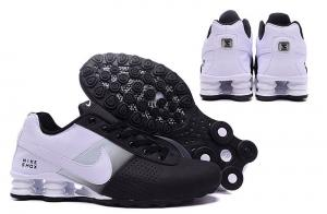 ac1945ddef4 ... Quality Nike Shox Deliver Shoes Black White Green Men s Sneakers Euro  Size 40-46 US ...
