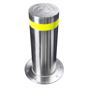 China Automatic Hydraulic Lifing Road Blockers Security Electric Trafict Rising Bollards on sale