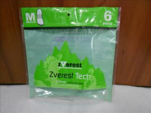 China Green Stand Up Vacuum Sealed Bags For Food With Zipper / Window on sale