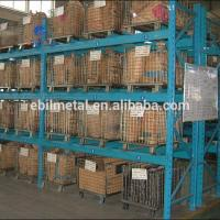 Foldable Metal Wire Mesh Decks Pallet Rack  Warehouse Storage  500 - 1000mm Depth