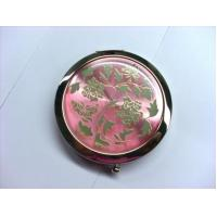 Custom Shaped Pocket Make Up Mirrorr For Travel , Eco Friendly Vintage Compact Mirror