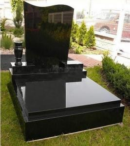 China Monumento negro absoluto del granito del negro de China Shanxi en venta on sale