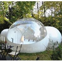 Outdoor Inflatable Camping Bubble Tent with 2 tunnels