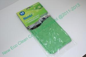 China All Purpose Microfiber Cleaning Cloth with Header Card on sale