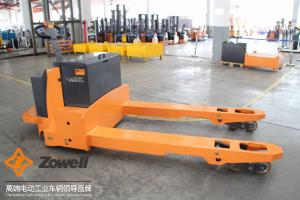 China 8 Ton Stand on pallet jack electric , lift motorized pallet stacker hire on sale