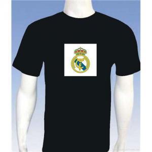 China New design el flashing t-shirt on sale