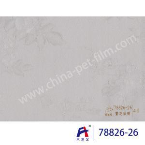 China 0.12-0.14mm Thickness PVC Decorative Film ,  Pvc Lamination Film Thriving on sale