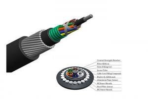 China Underwater Fiber Optic Cable , Double Sheathed Cable For Local Trunk Line on sale