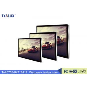 China 1920x1080P LED Backlit wall mount lcd display , video Advertising Digital Signage on sale