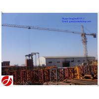 10T QTZ160-6515 big construction tower crane for sale