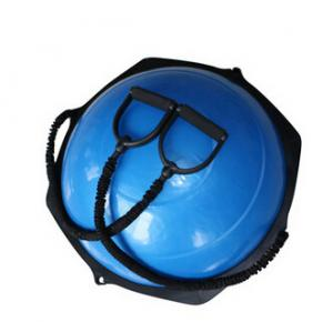 China Functional Training Half Yoga Ball Bosu Balance Trainer Bosu Ball on sale
