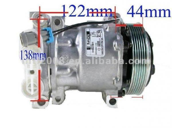 For Cadillac Chevy GMC Isuzu Oldsmobile A//C Compressor Delphi CS0120