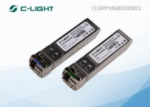 China CWDM 10Gbps SFP +  BIDI Optical Transceiver  for Communications Equipment on sale