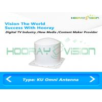 Ku Terrestrial MVDS Omni directional Antenna 10-14 Ghz Coverage Broadband