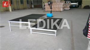 China Portative Folding Aluminum Stage Platform Catwalk Show Stage Fire - Proof on sale