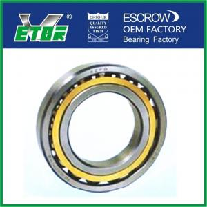 China Chrome Steel Angular Contact Ball Bearing Wear Resistant For Machine Tool on sale