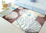 No alfombras de moda del forro de la resbalón, prenda impermeable grande de las mantas de la sala de estar
