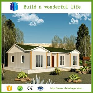 China Deluxe decoration prefab steel frame house construction designs for kenya on sale