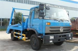 China Swing Arm 8cbm Waste Removal Trucks Dongfeng 170hp Refuse Rubbish Collection Vehicle on sale