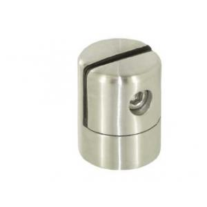 China 304ss satin fat glass clamp on sale