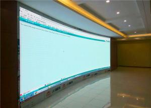 China Wall led screen MBI5024 driver IC LED Video Walls 5mm Pixel Pitch Indoor HD 3G Wireless Control on sale