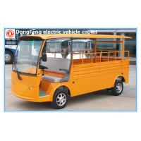 2 seats electric pick up truck with cargo box