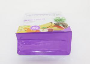 Quality Moisture Proof Plastic Zipper Pouch , Plastic Stand Up Pouches With Zipper for sale